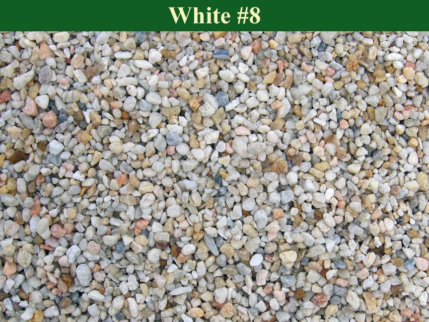 White-#8